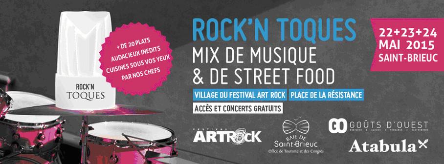 Affiche Rock'n Toques 2015
