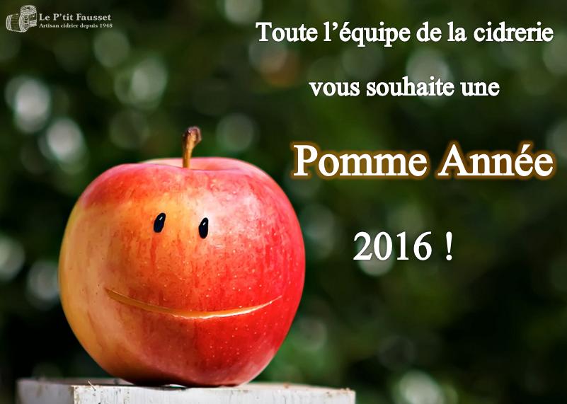 Pomme Année 2016